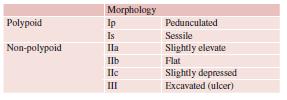 Clasificación de los Pólipos Gástricos