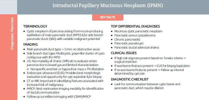 Neoplasia Intraductal Mucinosa
