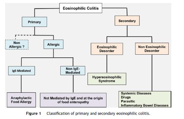 Clasificación de la Colitis Eosinofílica