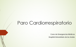 Paro Cardiorrespiratorio